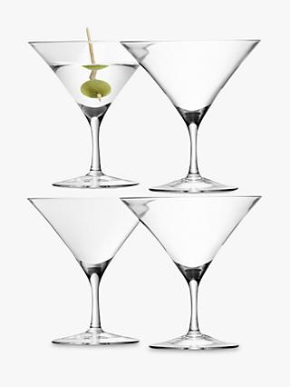 LSA Bar Martini Glasses, 0.18L, Set of 4