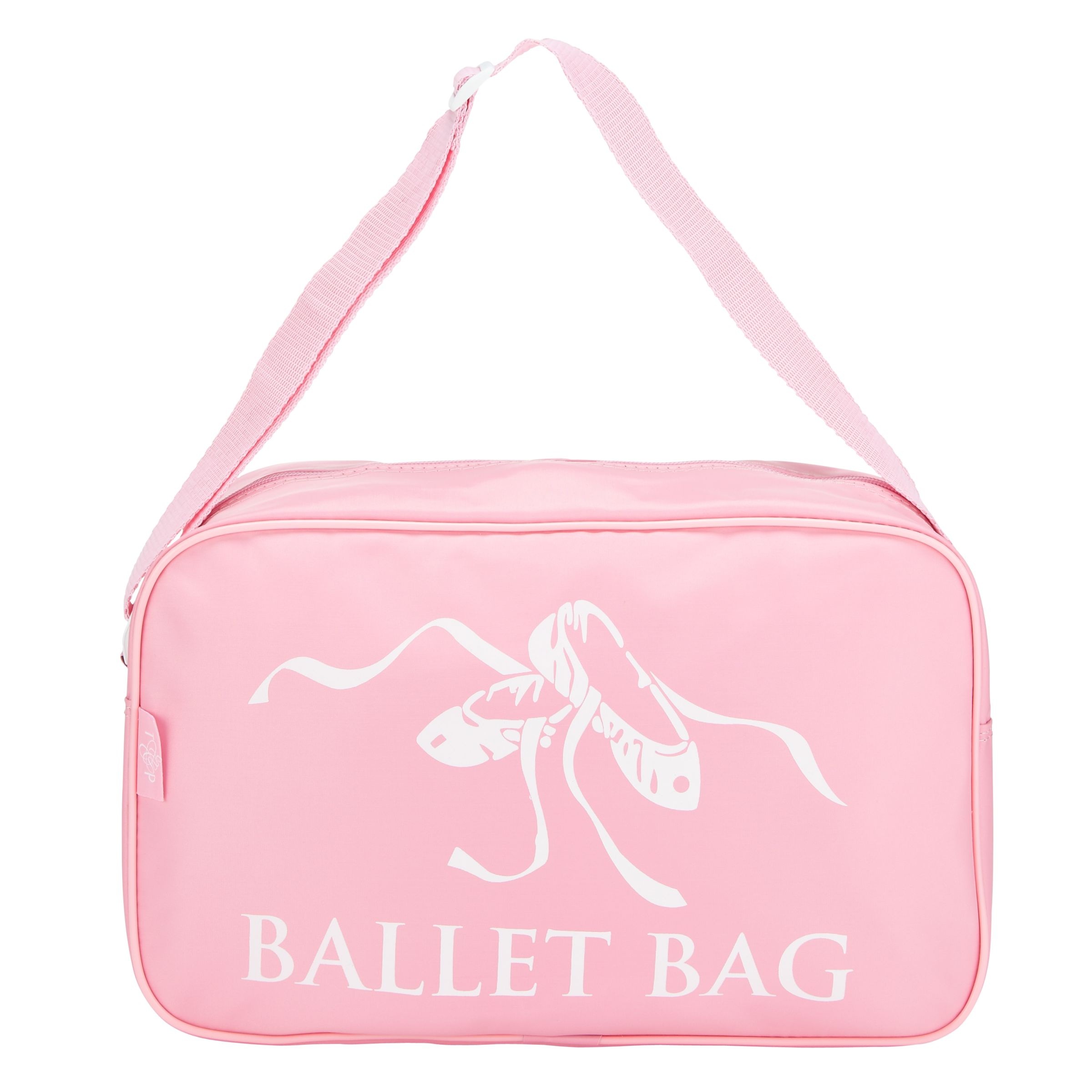Tappers and Pointers Tappers and Pointers Ballet Shoulder Bag, Pink