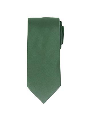 3122a9677c04 John Lewis & Partners Fine Twill Plain Silk Tie