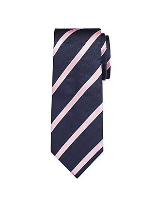 John Lewis & Partners Regimental Stripe Tie