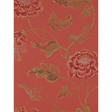 Buy Colefax & Fowler Poppy and Butterfly Wallpaper Online at johnlewis.com