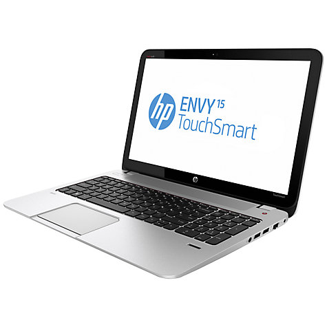 "Buy HP Envy TouchSmart 15-j004sa Laptop, Intel Core i7, 16GB RAM, 1TB, 15.6"" Touch Screen, Natural Silver Online at johnlewis.com"