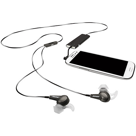 Buy Bose® QuietComfort® Noise Cancelling® QC20 Acoustic In-Ear Headphones for Android, Blackberry and Windows Online at johnlewis.com