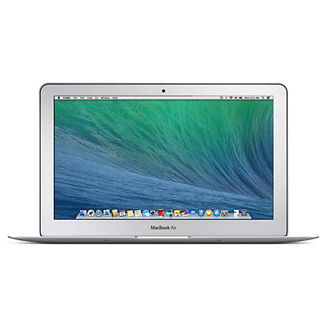 "Buy Apple MacBook Air, MD760B/A, Intel Core i5, 128GB Flash, 4GB RAM, 13.3"" Online at johnlewis.com"