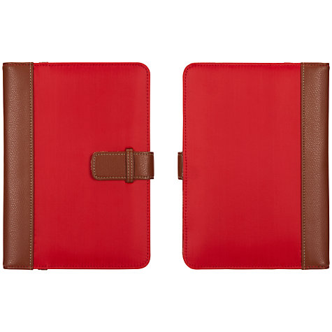 "Buy Griffin BackBay Passport Folio Case for 7"" Tablets, Black & Brown Online at johnlewis.com"