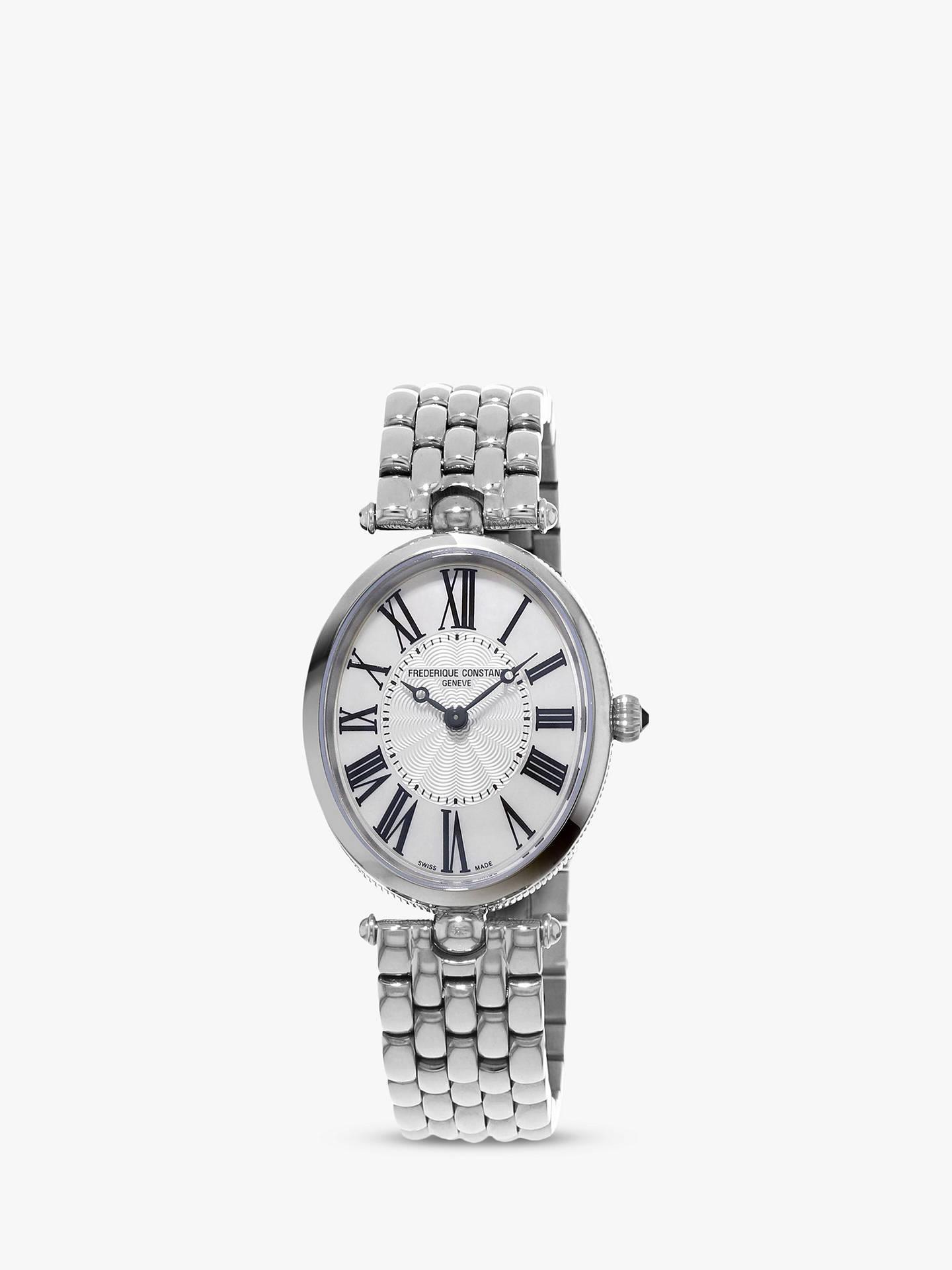 Frederique Women's Art Classic WatchSilver Constant Bracelet Strap Fc Deco 200mpw2v6b Oval c1uKJTlF3