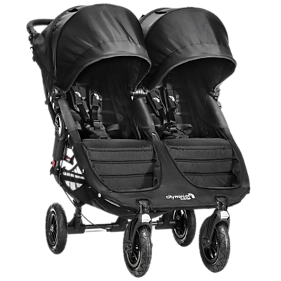 BABY JOGGER | Baby Jogger City Mini GT Double Pushchair, Black | Goxip