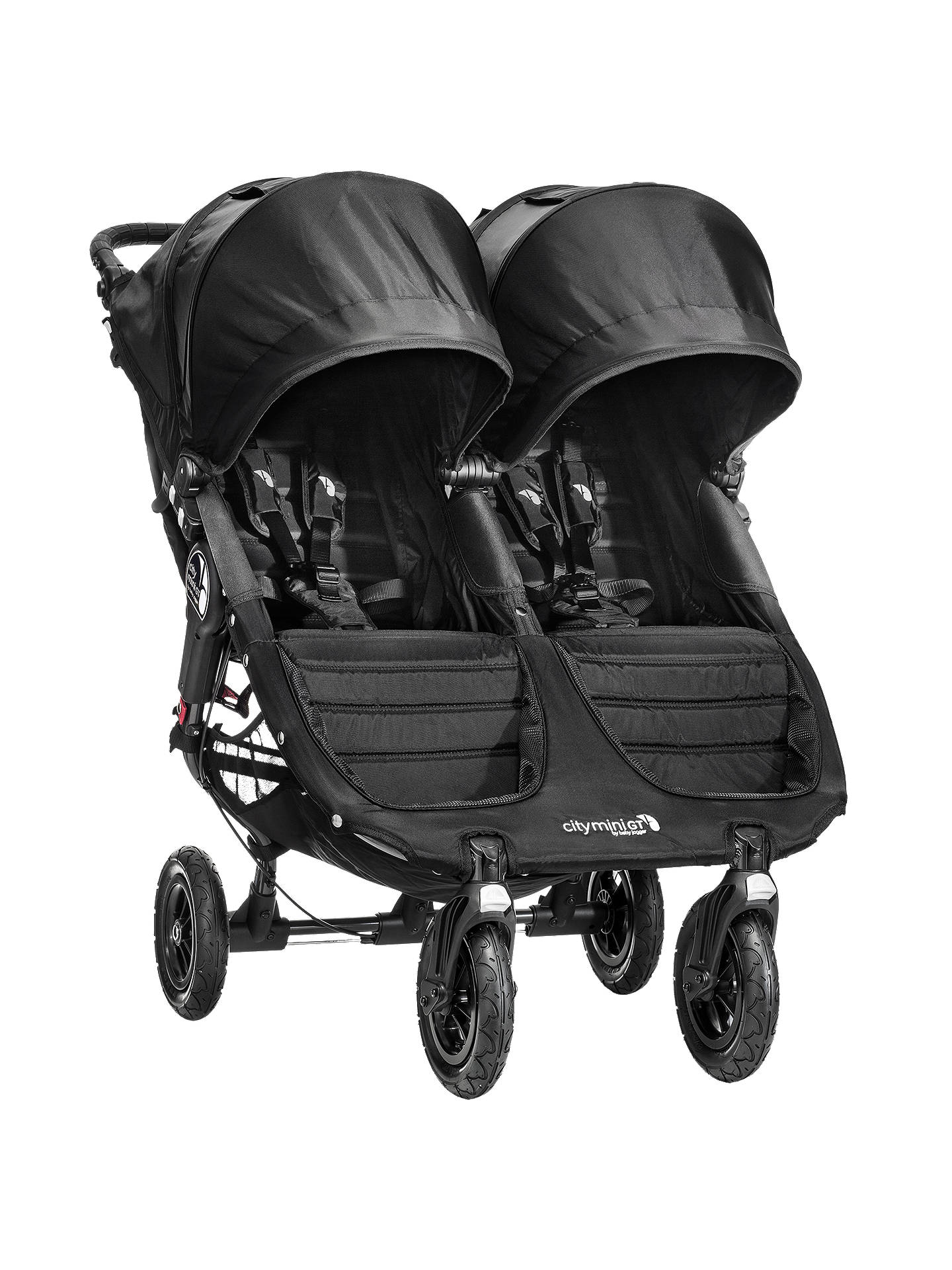 Baby Jogger City Mini Gt Double Pushchair Black