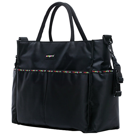 Buy Momymoo Everyday Changing Bag, Black Online at johnlewis.com