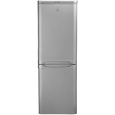 Indesit NCAA55S Fridge Freezer A Rated 55cm Wide Silver