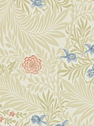 Morris & Co. Bird Larkspur Wallpaper