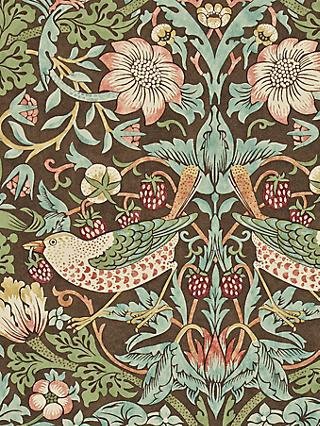Morris & Co. Strawberry Thief Wallpaper