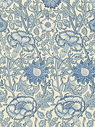 Morris & Co. Pink and Rose Wallpaper