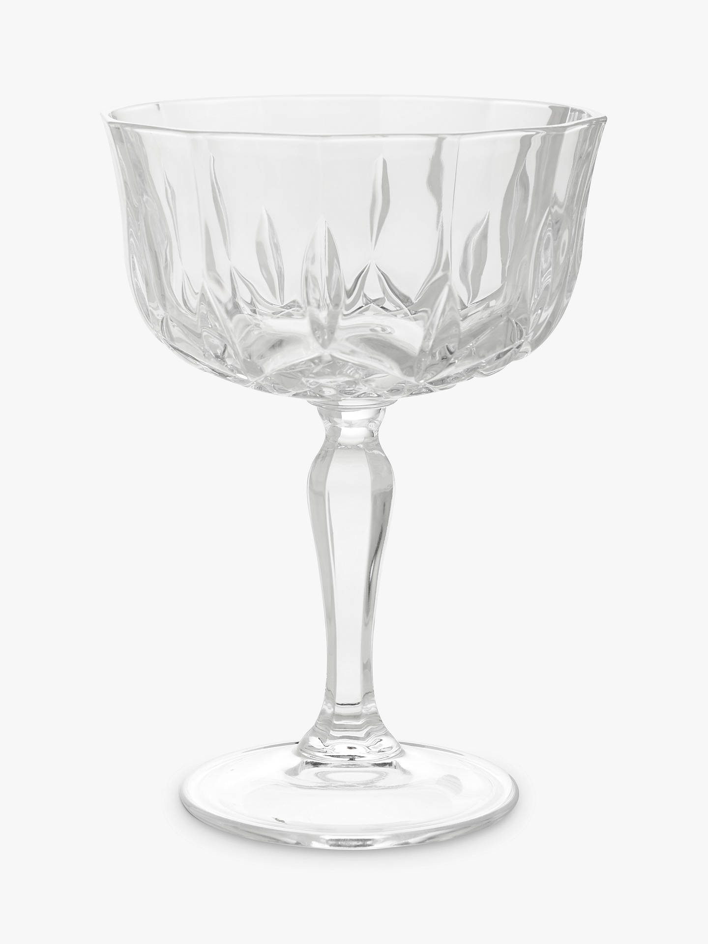 BuyJohn Lewis & Partners Paloma Crystal Glass Cocktail Coupe, 220ml, Clear Online at johnlewis.com