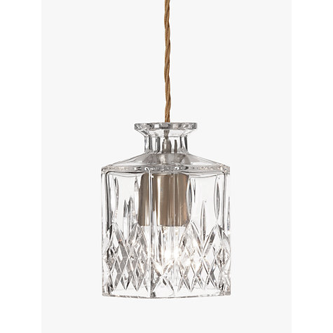 Buy Lee Broom Square Decanter Pendant Online at johnlewis.com