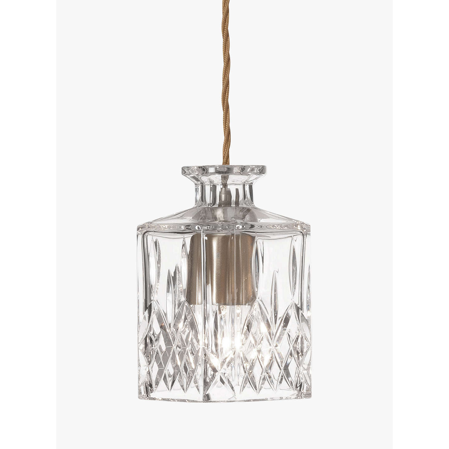 BuyLee Broom Square Decanter Pendant Online at johnlewis.com