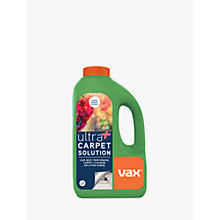 Buy Vax Ultra+ Carpet Solution, 1.5L Online at johnlewis.com