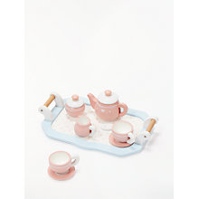 Buy John Lewis Wooden Toy Tea Set Online at johnlewis.com
