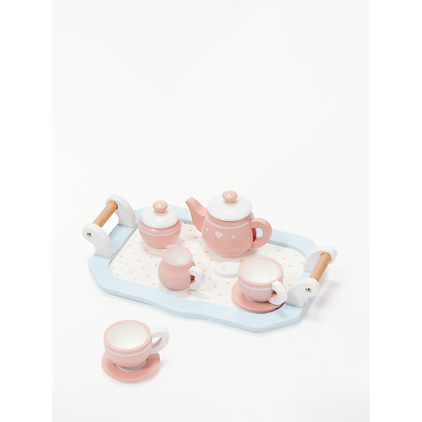 Buy John Lewis Wooden Toy Tea Set John Lewis