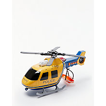 Buy John Lewis Large Police Helicopter Online at johnlewis.com