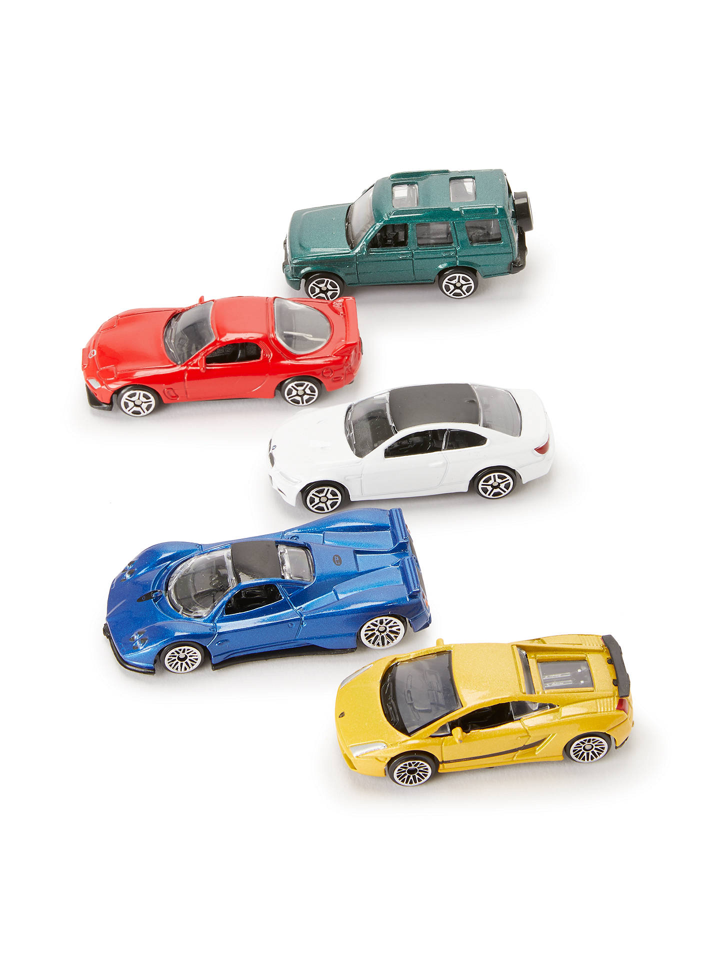 BuyJohn Lewis & Partners Vehicles, Pack of 5 Online at johnlewis.com