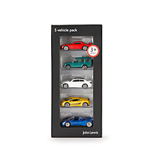 Buy John Lewis Vehicles, Pack of 5 Online at johnlewis.com