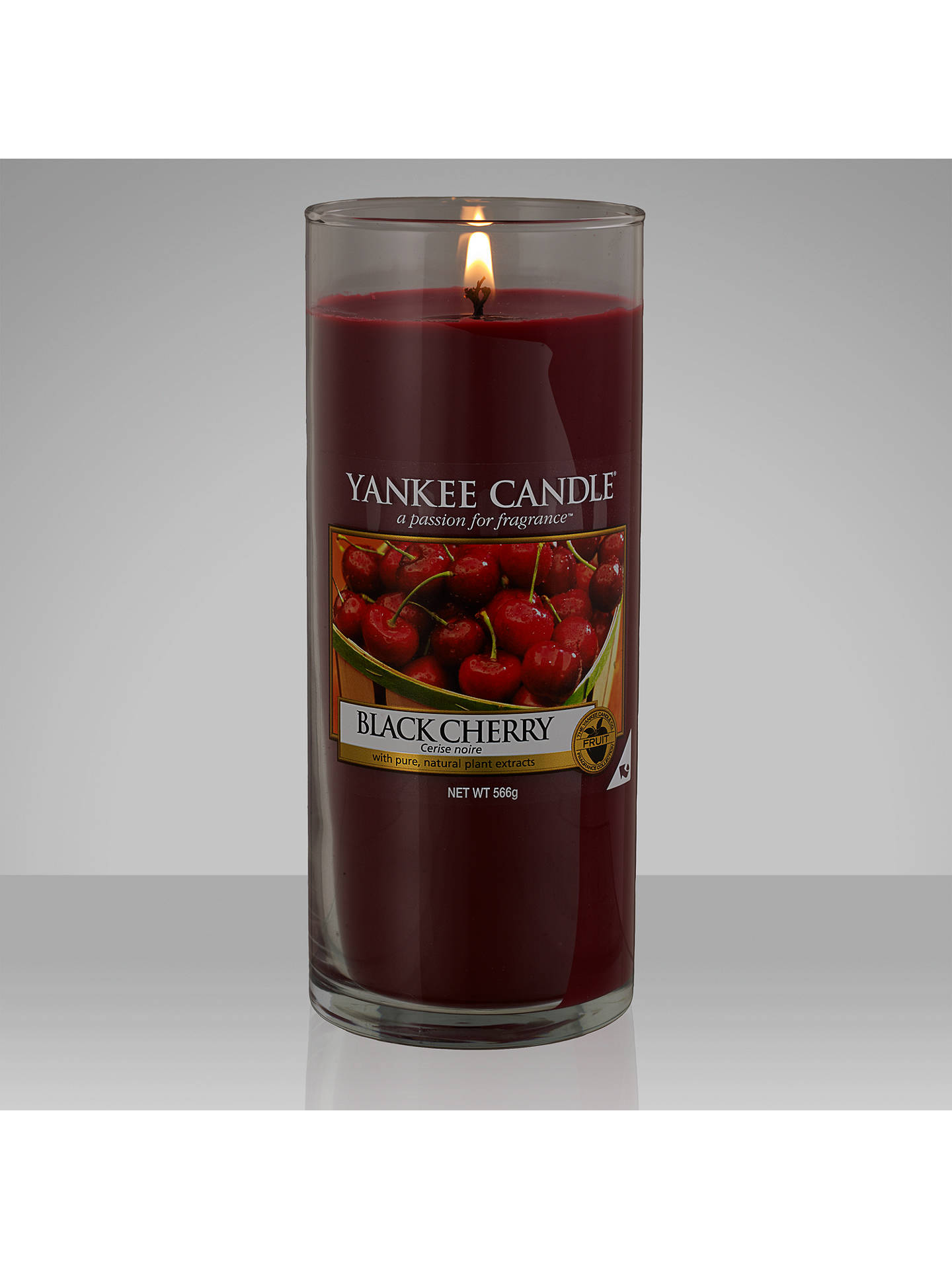 Yankee Candle Black Cherry Scented Large At John