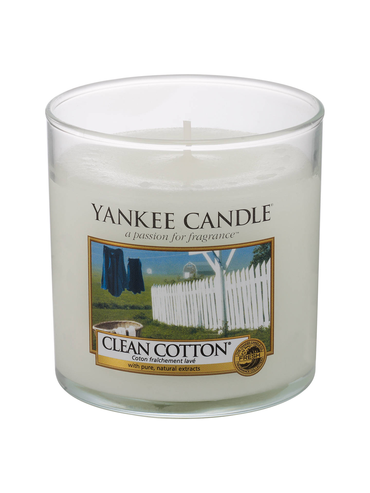 Yankee Candle Clean Cotton Scented Small At John