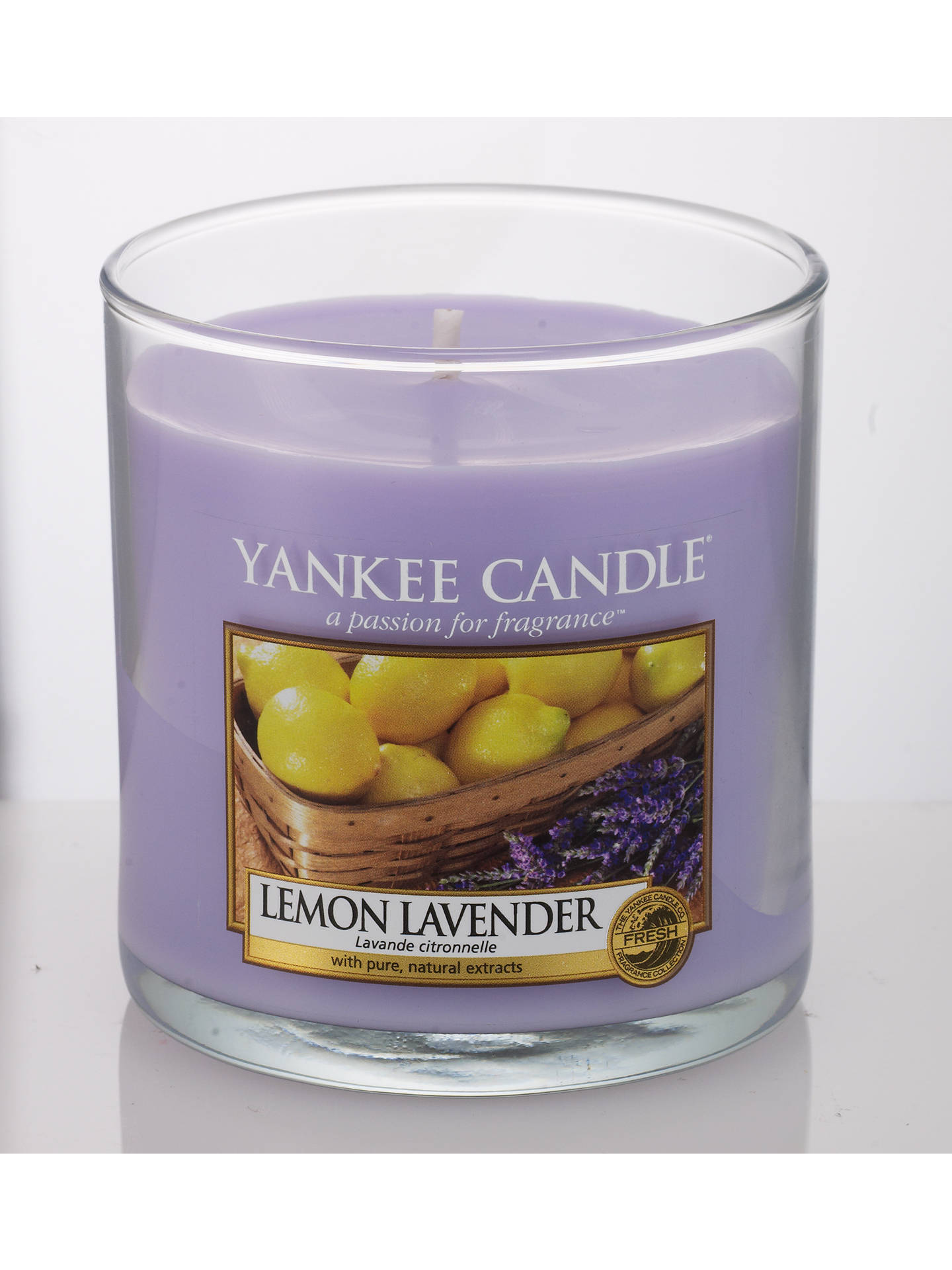 Yankee Candle Lemon And Lavender Scented Small At
