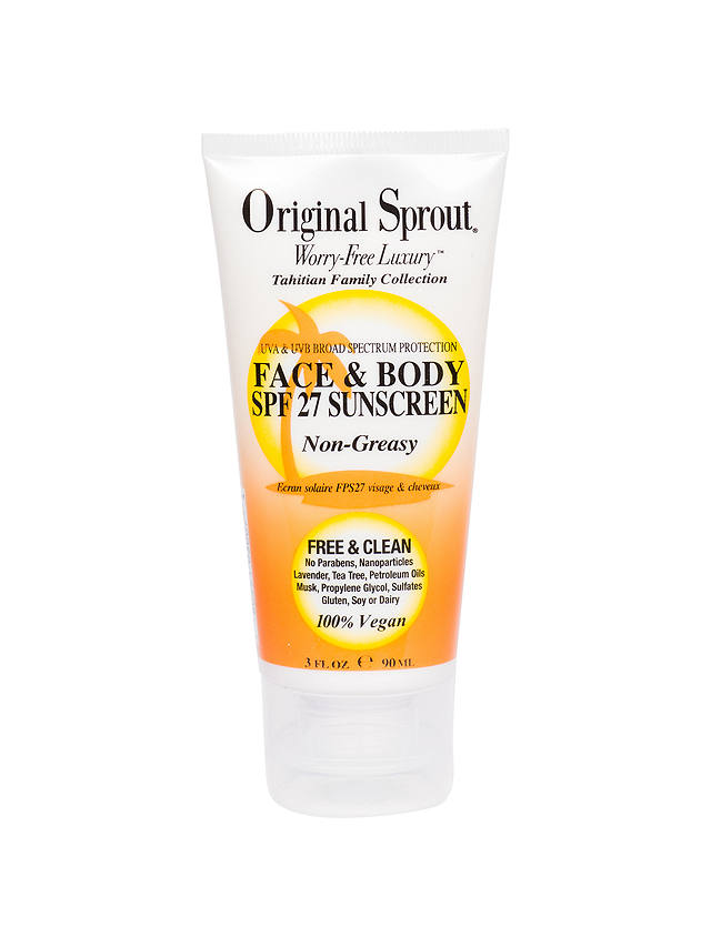 Buy Original Sprout Face and Body SPF 27 Sunscreen, 90ml Online at johnlewis.com