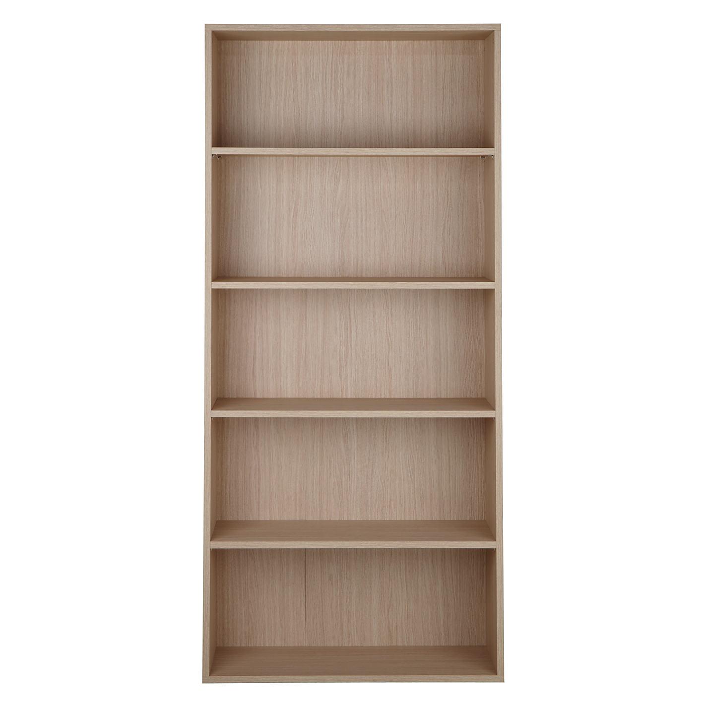 John Lewis The Basics Dexter Tall Wide Bookcase