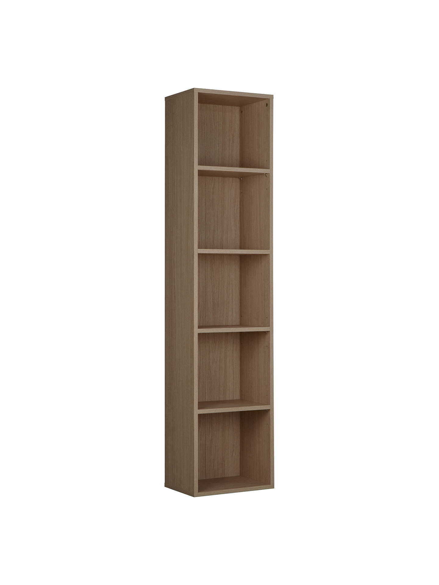 Buyjohn lewis the basics dexter tall narrow bookcase online at johnlewis com