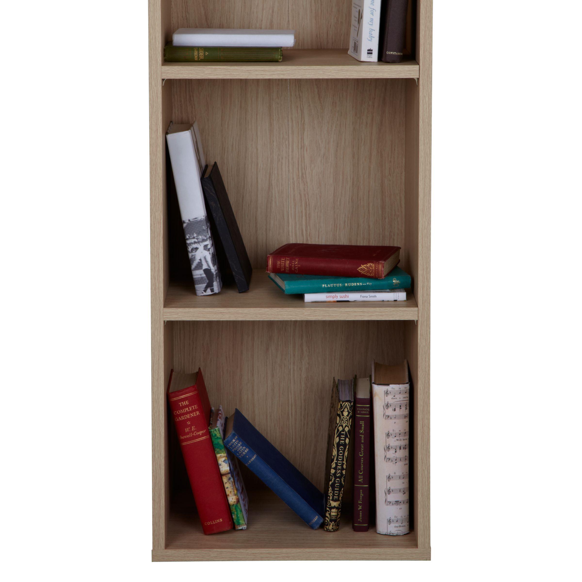 John Lewis The Basics Dexter Tall Narrow Bookcase At John