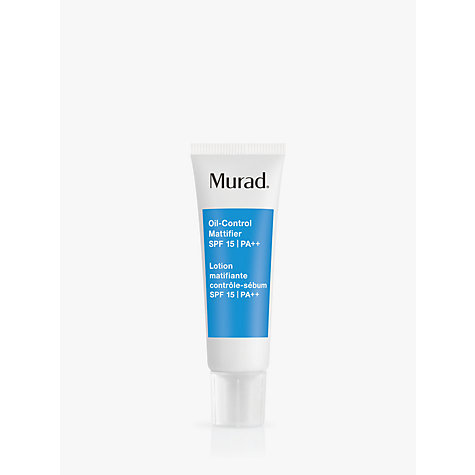 Buy Murad Oil-Control Mattifier SPF 15 PA++, 50ml Online at johnlewis.com