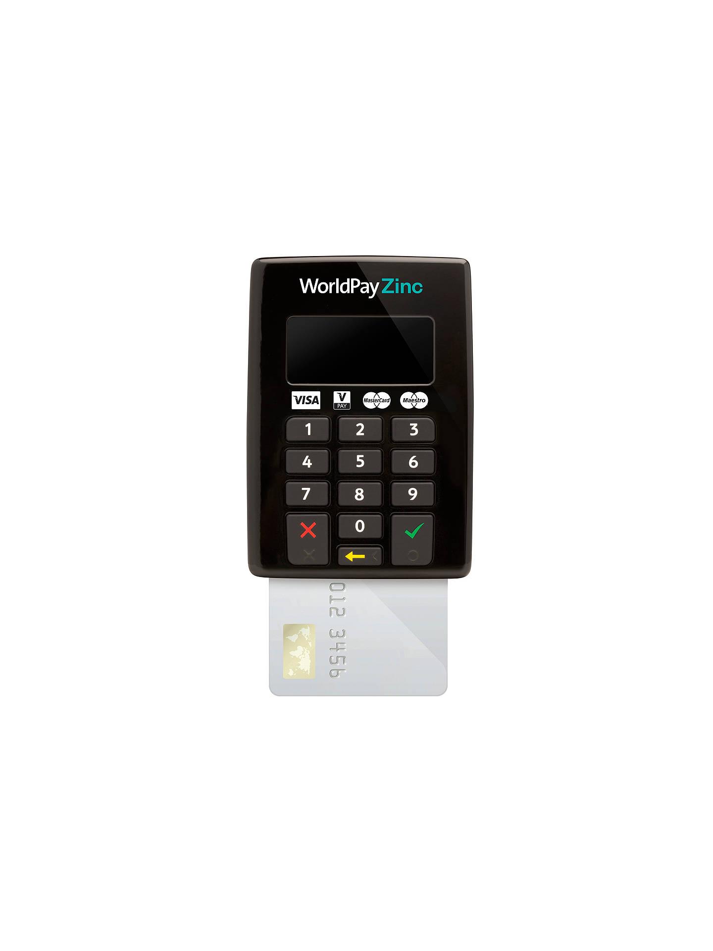 World Pay Zinc >> Worldpay Zinc Chip Pin Keypad At John Lewis Partners