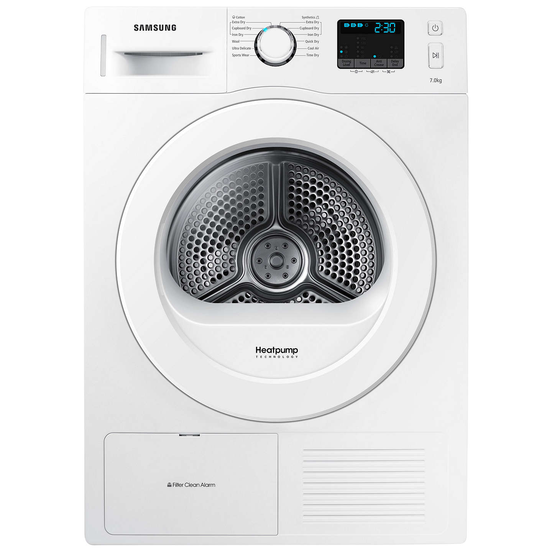 Loading Tumble Dryer ~ Samsung dv f e hgw heat pump condenser tumble dryer kg