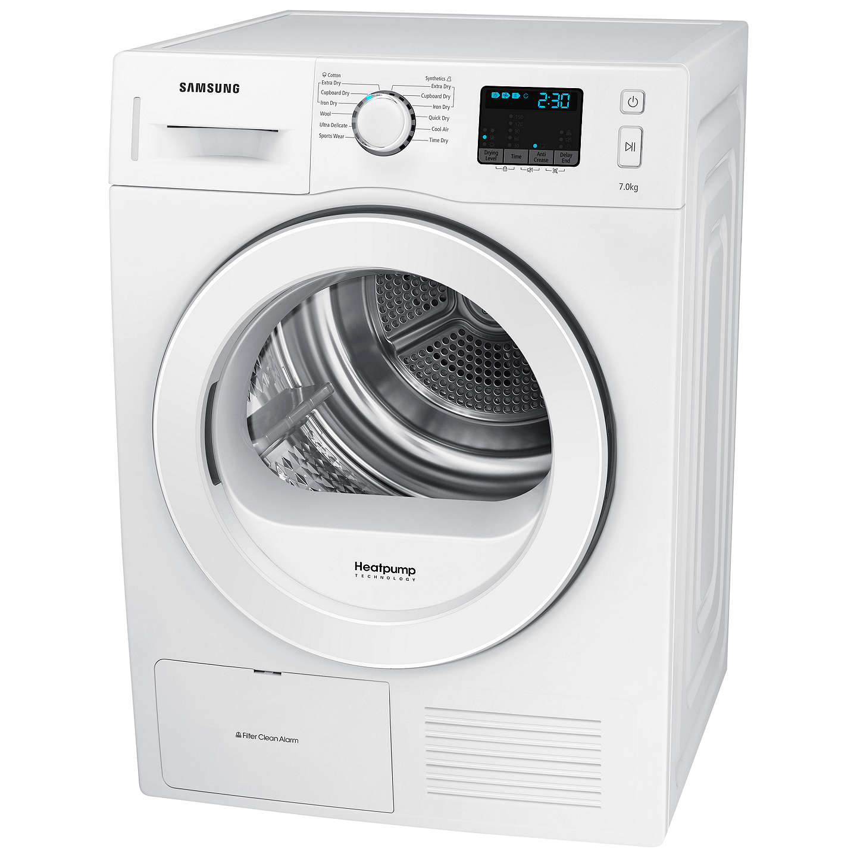 Types Of Clothes Dryers ~ Samsung dv f e hgw heat pump condenser tumble dryer kg