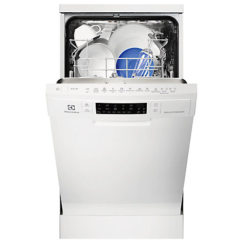 Buy Electrolux ESF4600ROW Slimline Dishwasher, White Online at johnlewis.com