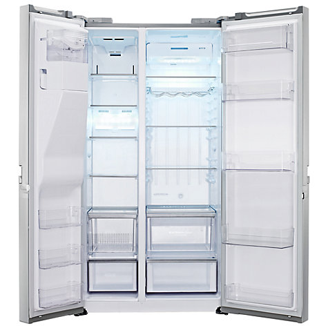 Buy LG GSL545NSQV American Style Fridge Freezer, Premium Steel Online at johnlewis.com