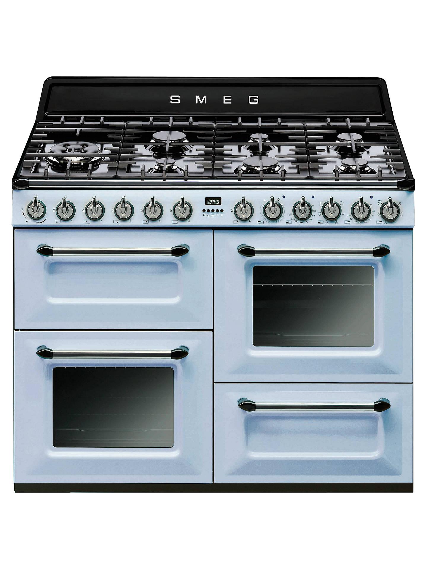 Smeg TR4110 Dual Fuel Range Cooker at John Lewis & Partners