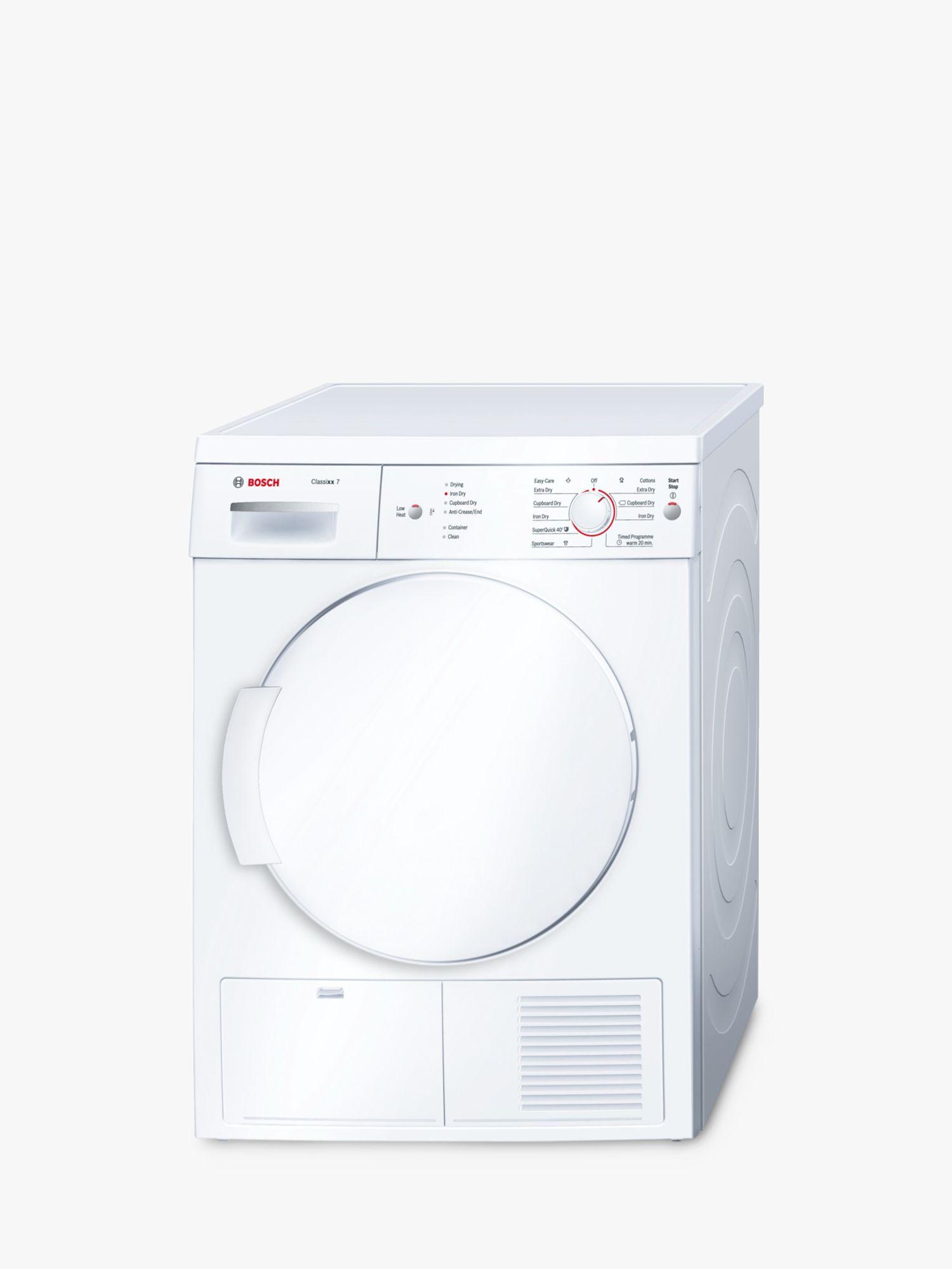 bosch classixx wte84106gb sensor condenser tumble dryer 7kg load b Maytag Washing Machine Wiring Diagrams buybosch classixx wte84106gb sensor condenser tumble dryer 7kg load b energy rating white