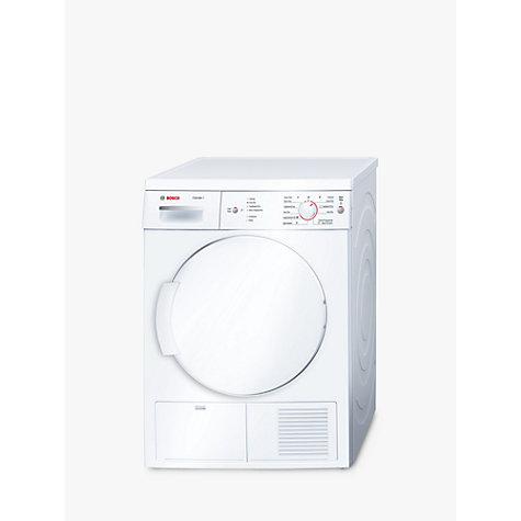 Bosch Dryer buy bosch classixx wte84106gb sensor condenser tumble dryer, 7kg