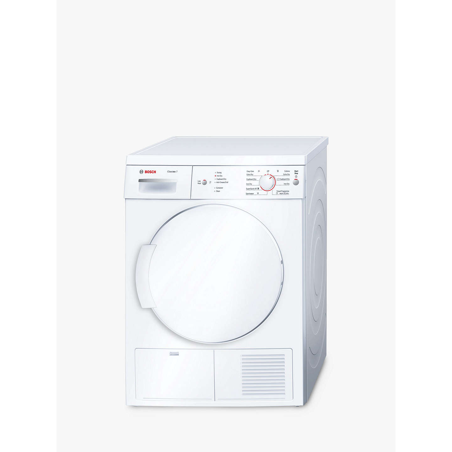 Bosch classixx wte84106gb sensor condenser tumble dryer 7kg load b buybosch classixx wte84106gb sensor condenser tumble dryer 7kg load b energy rating white sciox Image collections