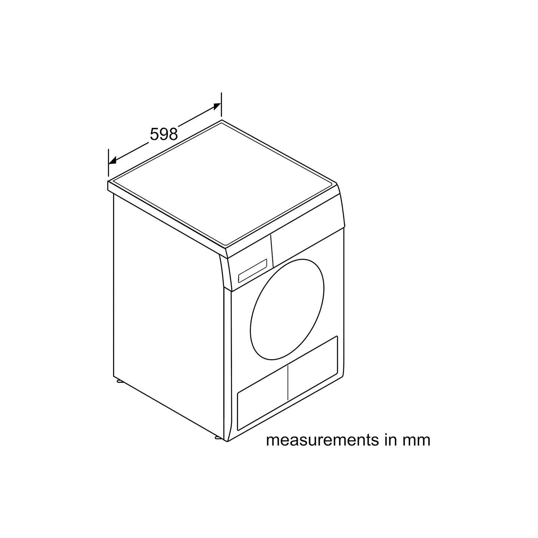 Bosch Classixx WTE84106GB Sensor Condenser Tumble Dryer