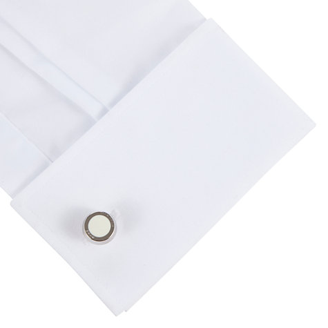 Buy BOSS Simony Rounded Cufflinks Online at johnlewis.com