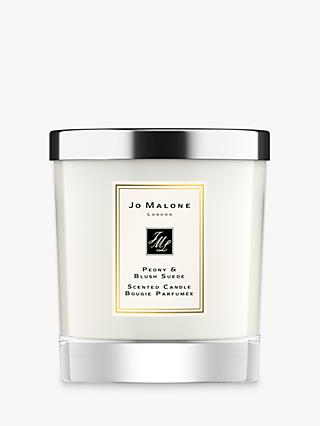 Jo Malone London Peony & Blush Suede Home Scented Candle, 200g
