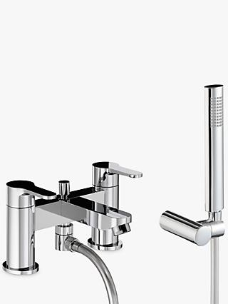 Abode Debut Deck Mounted Bath/Shower Mixer with Shower Handset