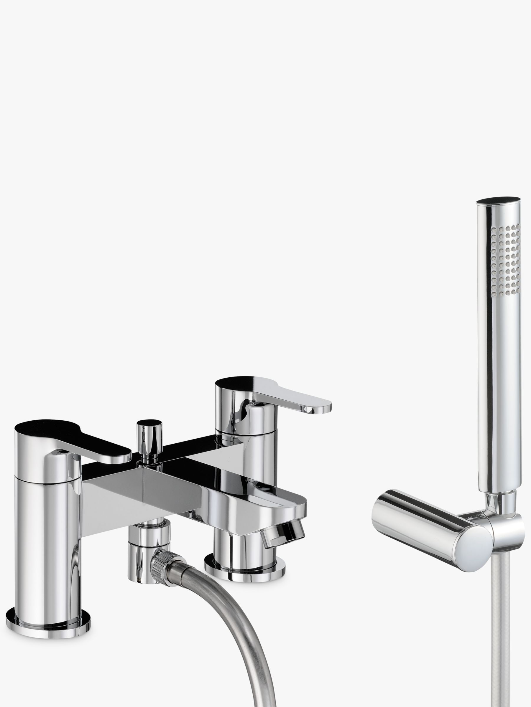 Abode Abode Debut Deck Mounted Bath/Shower Mixer with Shower Handset