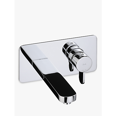 Image of Abode Bliss Wall Mounted Bathroom Basin Mixer Tap