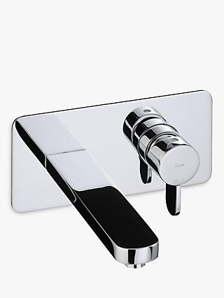 Abode Bliss Wall Mounted Bathroom Basin Mixer Tap